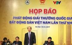 Phát động Giải thưởng Quốc gia Bất động sản Việt Nam