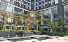 Một góc dự án TNR Goldmark City với quần thể xanh ấn tượng, độc đáo