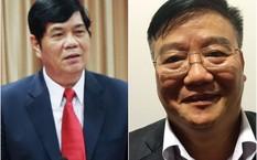 Ban Bí thư quyết định thi hành kỷ luật với ông Nguyễn Phong Quang (trái) và Nguyễn Anh Dũng vì những vi phạm nghiêm trọng.