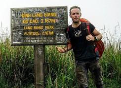 Chàng trai Ý lái vespa từ Milan đến Việt Nam