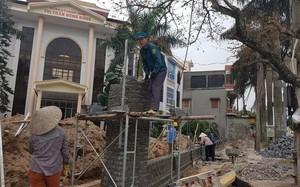 Huyện Đông Hưng, Thái Bình: Cả huyện tự tháo dỡ công trình lấn chiếm vỉa hè