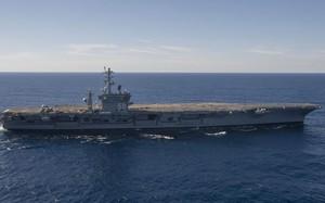 Tàu sân bay Mỹ USS Nimitz trong một lần hoạt động tại Thái Bình Dương