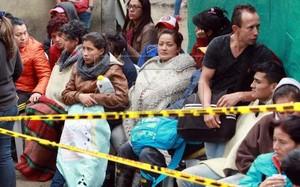 Sập hầm than tại Colombia, nhiều người mất tích. Ảnh: EPA