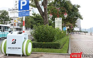 Hình ảnh những thùng rác thông minh đầu tiên trên địa bàn Đà Nẵng