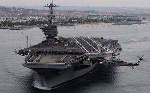 Tàu chiến của Hải quân Mỹ. (Ảnh minh họa)