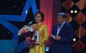 Hồng Ánh phát biểu sau khi nhận giải
