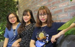 Từ trái qua phải: Thu Trang, Thanh Hiếu và Phương Thảo