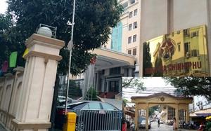 Trụ sở mới Thanh tra Chính phủ nằm ở lô D29 khu đô thị mới Trần Thái Tông - Yên Hòa - Cầu Giấy (ảnh lớn); Trụ sở cũ Thanh tra Chính phủ nằm ở số 222 Đội Cấn (ảnh nhỏ). Ảnh: Như Ý.