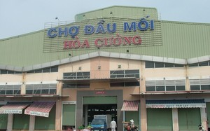 Chợ Đầu mối Hòa Cường (thuộc phường Hòa Cường Nam, quận Hải Châu, Tp Đà Nẵng).