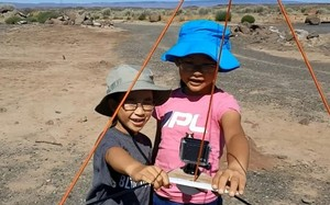 Hai chị em được NASA mời hợp tác thu nhập dữ liệu về nhật thực