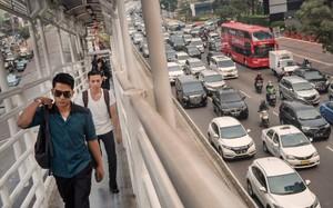 Indonesia xếp hạng chót trong tổng số 46 quốc gia được khảo sát vì có số bước chân người đi bộ trung bình ít nhất. (Nguồn: NYTimes).