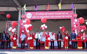 Coca Cola Việt Nam hoàn thành gói đầu tư mở rộng 300 triệu USD giai đoạn 2013-2016