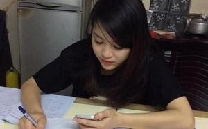 Bức ảnh đi kèm dòng tâm sự của Kim Anh khiến nhiều người chú ý