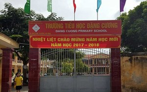 rường Tiểu học Đặng Cương, nơi Thanh tra Bộ GD&ĐT kiểm tra, phát hiện có đến 20 khoản thu tự nguyện, trong đó có nhiều khoản thu sai quy định