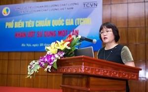 Bà Thái Quỳnh Hoa phát biểu tại hội nghị. (Ảnh: Vietnam+)