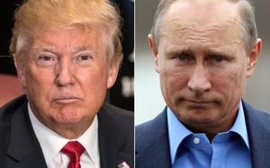 Tổng thống Mỹ Donald Trump và người đồng cấp Nga Vladimir Putin