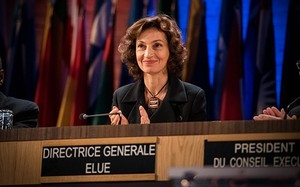 Bà Azoulay là Tổng giám đốc thứ 11 của UNESCO