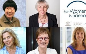 Năm phụ nữ đạt giải thưởng L'ORÉAL-UNESCO 2018