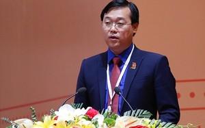 Đồng chí Lê Quốc Phong, Bí thư Thứ nhất Trung ương Đoàn khóa XI phát biểu. Ảnh: VGP