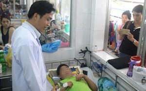 Bé trai được cứu sống sau ca phẫu thuật xuyên đêm.