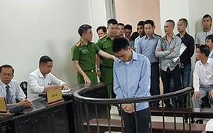 Lý Văn Hà tại tòa.