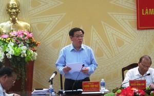 Phó thủ tướng Vương Đình Huệ làm việc với Tỉnh ủy Bình Thuận sáng 26/5.