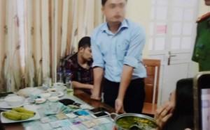 Hình ảnh về vụ bắt giữ ông Lê Duy Phong.