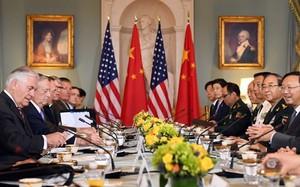 Cuộc họp trong khuôn khổ Đối thoại Ngoại giao và An ninh Mỹ - Trung diễn ra hôm 19/6 tại Washington. Ảnh: AFP