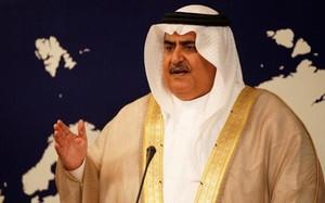 Ngoại trưởng Bahrain Khalid bin Ahmed al-Khalifa. Ảnh: Reuters.