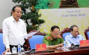 Phó thủ tướng Trương Hòa Bình phát biểu chỉ đạo sáng 20/7.