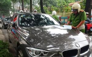 TP HCM truy phạt 765 xe hơi vi phạm nộp phạt chậm trễ