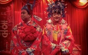 Một đám cưới truyền thống ở Trung Quốc. Ảnh minh họa: China Daily.
