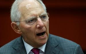 Bộ trưởng Tài chính Đức Wolfgang Schaeuble. Ảnh: Reuters.