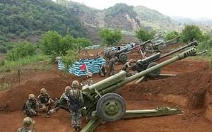 Pháo binh Trung Quốc trong một cuộc tập trận. Ảnh: SCMP.