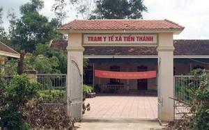 Trạm y tế xã Tiến Thành, huyện Yên Thành, Nghệ An - nơi bà Lương đang công tác.