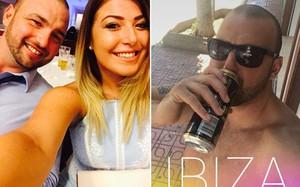 """Gareth Kelly 30 tuổi, nói với Hannah, 20 tuổi sẽ đến quán bar uống với bạn một lúc và """"một lúc"""" của anh thực tế là 5 ngày. Ảnh: Sun."""
