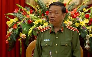 Thượng tướng, Bộ trưởng Công an Tô Lâm. Ảnh: Bá Đô