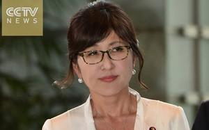Bộ trưởng Quốc phòng Nhật Bản Tomomi Inada. Ảnh: CCTV.