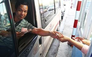 Bốn ngân hàng cho vay BOT lớn nhất chiếm tới 91% dư nợ. Ảnh trạm thu phí Cai Lậy, Tiền Giang: Hoàng Nam.