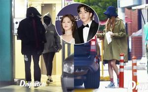 Bằng chứng hẹn hò của Nam Joo Hyuk và Lee Sung Kyung được Dispatch tung ra vào tháng 4.