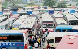 Các xe đi Lào Cai, Hạ Long, Hải Phòng dịp 2/9 thường đông nghịt khách. Ảnh minh họa: Phương Sơn.