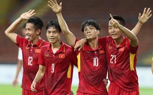 ĐT U22 Việt Nam sẽ nhận được khoản thưởng khủng từ Chúa Đảo Tuần Châu Đào Hồng Tuyển nếu đánh bại U22 Thái Lan chiều nay. Ảnh: Vnexpress