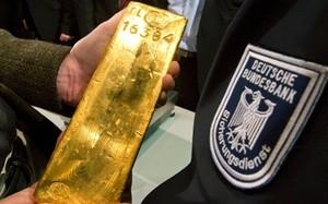Đức đã cất hơn 700 tấn vàng thỏi ở nước ngoài. Ảnh: AFP