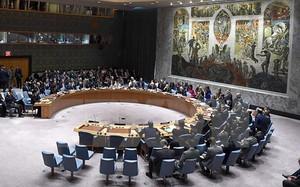 Một phiên họp của Hội đồng Bảo an Liên hợp quốc.