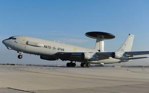Phi cơ AWACS của NATO. Ảnh: Aviationist.