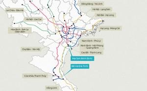 Mạng cao tốc trên cả nước và cao tốc Bắc Nam.