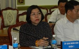 Phó Chủ tịch UBND quận 1 Nguyễn Thị Thu Hường