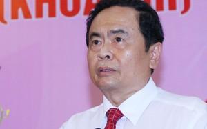 Tân Chủ tịch Uỷ ban Trung ương MTTQ Việt Nam Trần Thanh Mẫn.