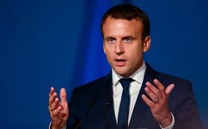Tổng thống Pháp Emmanuel Macron. (Nguồn: AFP/Getty Images)