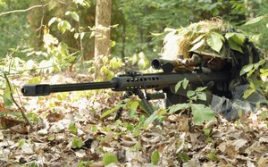 M82 là một trong những súng bắn tỉa hạng nặng nổi tiếng nhất thế giới. Ảnh: Wikipedia.